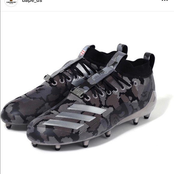 Adidas x Bape Football Cleats Men 10.5 (2019) NWT